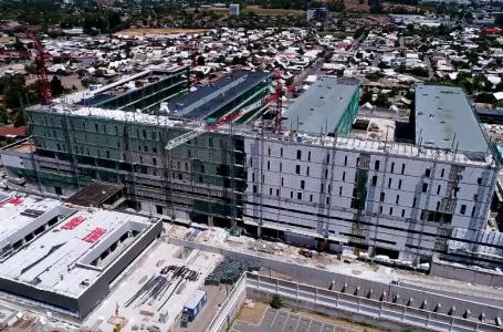 Construcción del nuevo hospital de Curicó avanza según los plazos establecidos