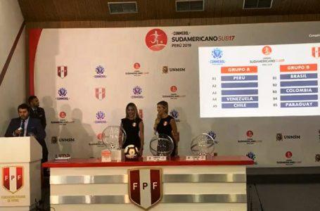 Conoce los rivales que tendrá la Rojita sub 17 en el Sudamericano de Perú