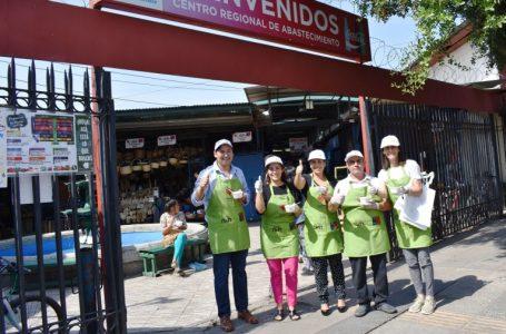Elige Vivir Sano: clientes del CREA de Talca degustaron de alimentación saludable