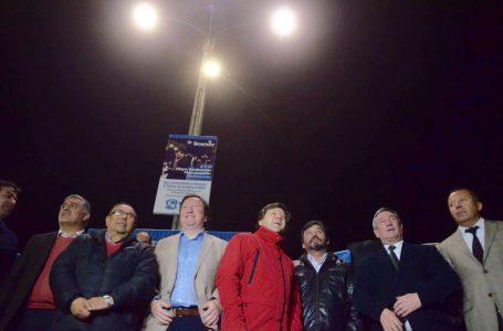 Juan Carlos Díaz dice que no tiene nada que ver con el recambio de luminarias en Talca