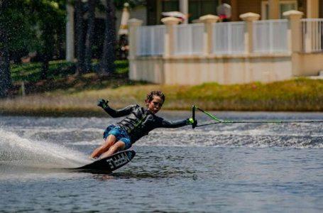 Con sólo trece años Santiago Barrientos brilló en Panamericano de Esquí Náutico