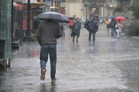Intensa lluvia en pocas horas se espera el viernes en la Región del Maule