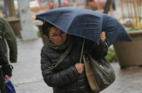 Meteorología anuncia lluvia y viento para hoy en la Región del Maule