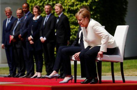 Preocupa el estado de salud de Angela Merkel