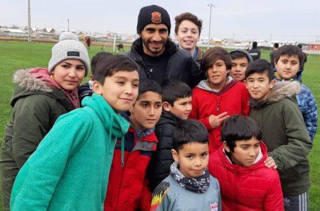 Plantel de Rangers se reunió con niños de la comuna de Retiro