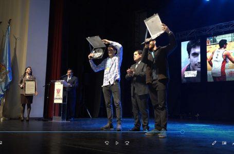 """Esteban y Marco Grimalt fueron recibidos en Linares y declarados como """"hijos ilustres"""""""