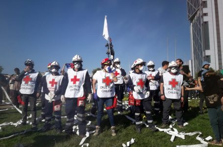 Cruz Roja chilena cifra en más de 2.500 los heridos en manifestaciones