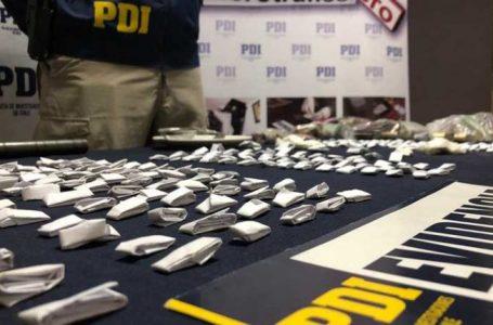 Banda de microtráfico fue detenida por PDI en Linares