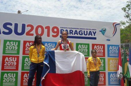 Atleta de Cauquenes se queda con el primer lugar en Sudamericano Escolar en Paraguay