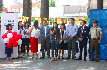 Senda previene Curicó lanzó campaña preventiva