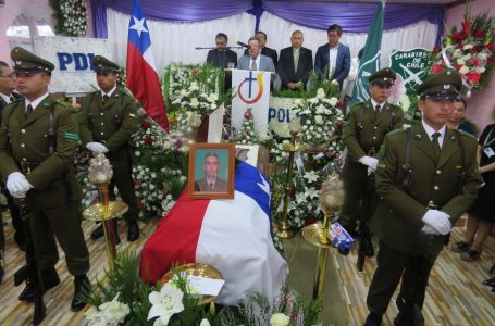 Con emotivo funeral fue despedido carabinero fallecido mientras estaba de servicio