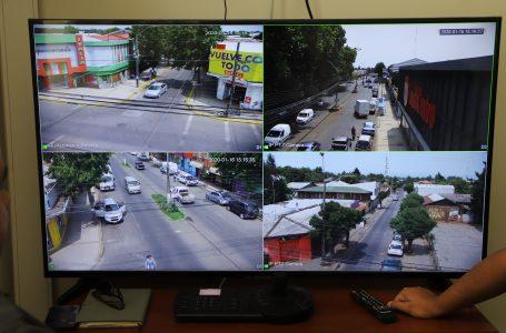 Exitosa puesta en marcha de nuevas cámaras de televigilancia en Parral