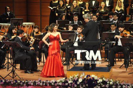 Evento lírico gratuito se desarrollará en el Teatro Regional del Maule