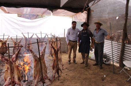 Todo listo para la fiesta del chivo al palo en Pehuenche este sábado y domingo