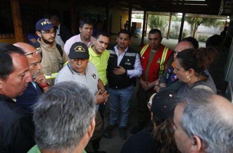 En zona limítrofe de Molina y Curicó continúa  combate a incendio forestal