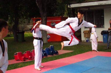 Conoce el esfuerzo que realizan taekwondistas maulinos para mantenerse en forma