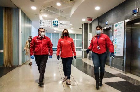 ISL distribuyó en hospitales de la región 12 mil mascarillas y 600 escudos faciales