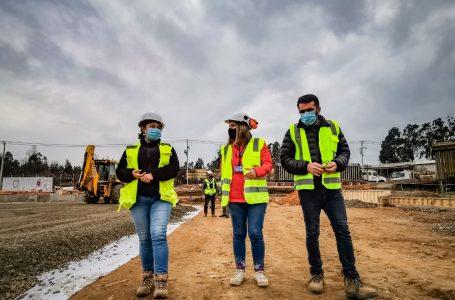 Proyectos de importante constructora de Constitución fueron visitados por la Seremi del Trabajo