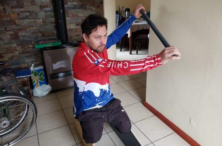 Canoísta paralímpico Franco Gutiérrez lucha por un cupo para Tokio 2021
