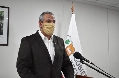 Pablo Milad presentó su renuncia al cargo de Intendente de la región
