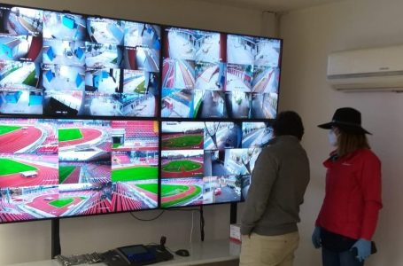 Autoridades del Mindep-IND inspeccionaron sistema tecnológico de seguridad del Estadio Fiscal