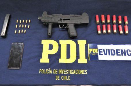 En operativo policial logran detener a sujeto por infracción a la ley de armas