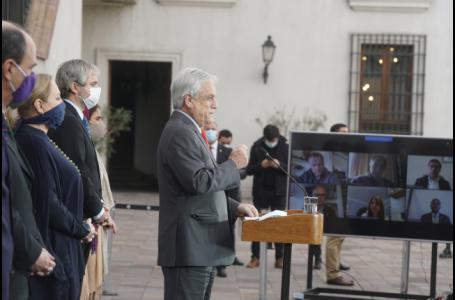 Presidente Piñera presentó nuevas medidas de apoyo para la clase media