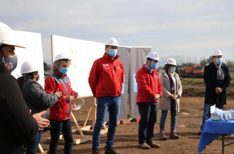 Se inician obras de construcción de conjuntos habitacionales en Teno y Molina