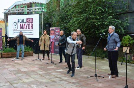 Lanzamiento de CALLecta Mayor es liderada por cantantes de la Nueva Ola