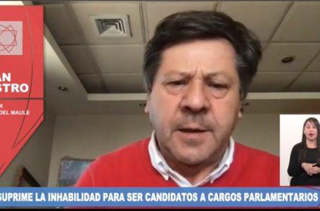 Senador Castro rechaza suprimir las inhabilidades para ser candidatos
