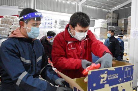294.555 canastas de alimentos se han despachado en la Región del Maule