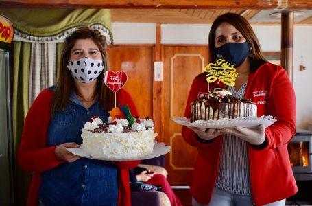 Emprendedora maulina ingresa al mundo digital con sus tortas y repostería