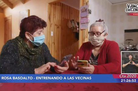 """Mujer Prodemu de la región del Maule es destacada en jornada """"Vamos Chilenos"""""""