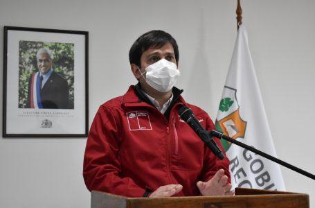 Intendente Prieto anunció que a partir del próximo lunes no habrá comunas en Cuarentena en la Región del Maule