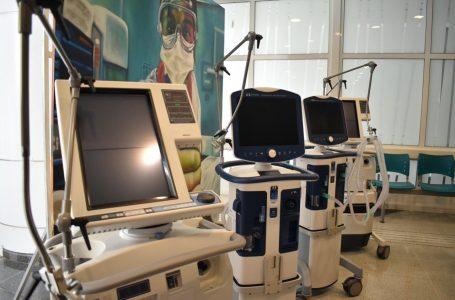 Se suman 10 nuevos ventiladores mecánicos al Hospital Regional de Talca