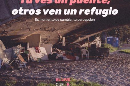 """""""El Live que nadie ve"""": Cruzada online busca recaudar fondos para ayudar a gente en situación de calle"""