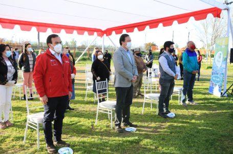 Minvu y el municipio inician mejoramiento de tres barrios de Talca