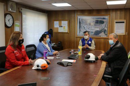 Seremis de Salud y Trabajo visitaron planta de Arauco ante llegada de más de 2 mil trabajadores