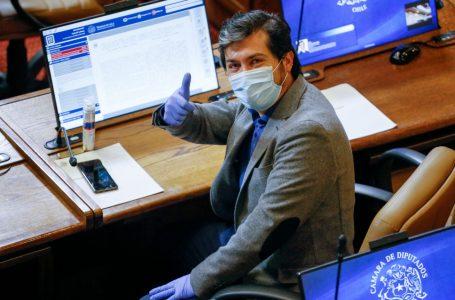 Diputado Hugo Rey votará a favor del segundo retiro del 10%