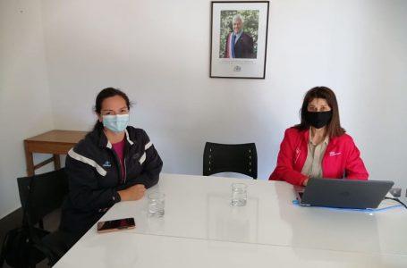 Club de Natación de Curicó recibe orientaciones en protocolo sanitario
