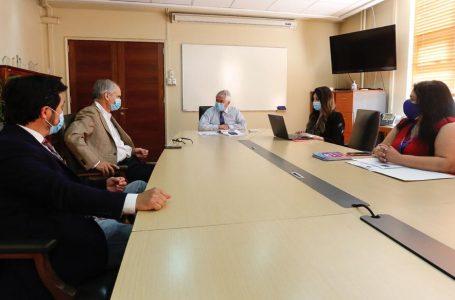 Diputado Hugo Rey y Senador Galilea solicitaron a Ministro de Salud habilitar cuanto antes nuevo Hospital de Curicó