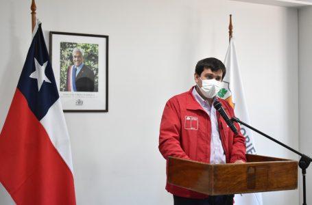 """Intendente del Maule""""Si las personas no son responsables y no se comprometen al autocuidado será difícil salir de esta Pandemia"""""""