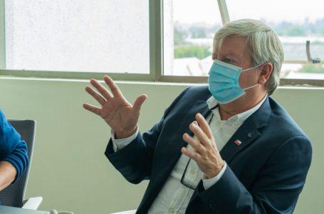 """George Bordachar: """"Aprobamos más de 790 millones para mejoramientos comunales"""""""