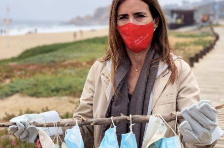 Ministerio del Medio Ambiente llama a botar de forma responsable las mascarillas desechables