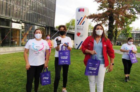 """Mujeres de Agrupación UPUS Talca realizan jornada recreativa en el marco de """"la semana de la Mujer"""""""