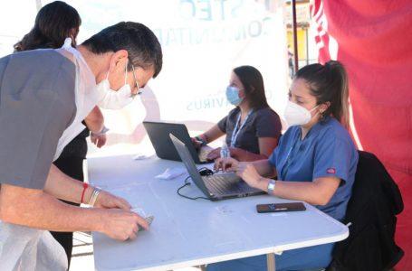 Operativo de test antígenos se desarrolla en frontis del Hospital de Talca