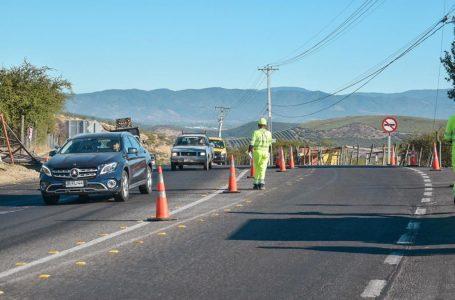 Comenzaron las obras para mejorar ruta que une Talca y Pencahue