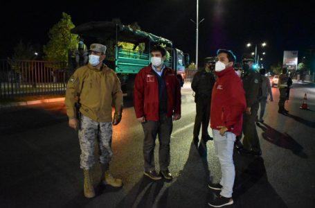 Autoridades informan de nuevo punto de control fijo en Talca