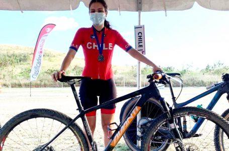 Ciclista Sofía Mires es la carta maulina para los Juegos Panamericanos de Cali