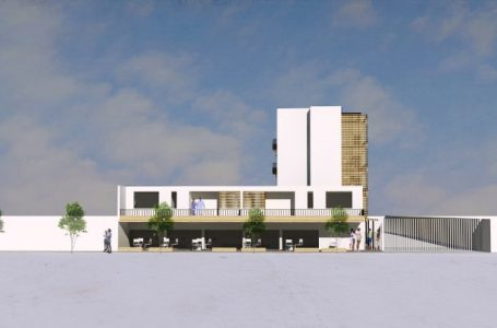 Edificio de integración social en madera: uso de moderna tecnología se concreta en Linares
